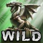 O símbolo Curinga do caça-níqueis grátis Golden Dragon