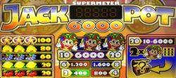 Caça-níqueis grátis Jackpot 6000