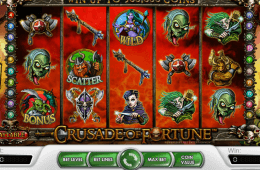 Slot de cassino Crusade of fortune