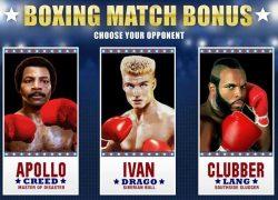 Bônus Boxing Match - Bônus luta de boxe da slot grátis Rocky
