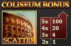Tabela bônus Coliseum