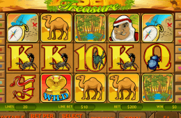 Desert Treasure jogo de cassino online grátis