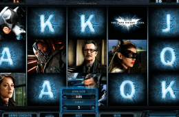 Slot online grátis The Dark Knight Rises