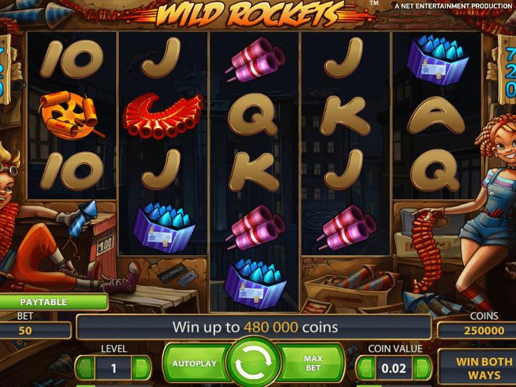 Wild Rockets slots - spil Wild Rockets slots gratis online.