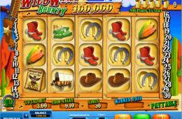 caça-níquel Wild West Bounty online grátis