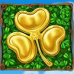 O símbolo Disperso do caça-niqueis grátis Golden Shamrock