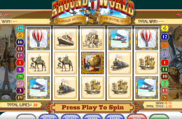 Around the World slot online grátis
