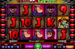 slot grátis online Cartoon Capers