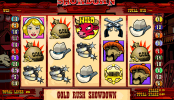 jogar slot machine Gold Rush Showdown gratis