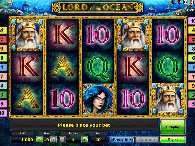 Lord Of Ocean Free Play