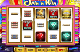 slot machine Triple Bonus Spin´n Win gratis online