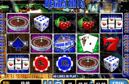 Vegas Hits sem depósito