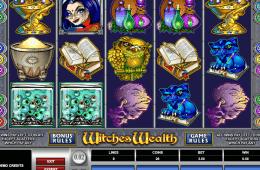 imagem da slot Witches Wealth grátis online