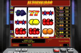 Slot online de cassino Always Hot grátis