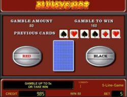 Caça-níqueis de cassino grátis  Always Hot - Gamble Mode