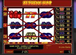 5 linhas de pagamento do caça-níqueis online grátis Always Hot