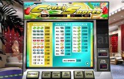Jogo caça-níqueis de cassino online Crazy Sports