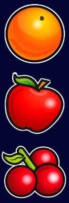 Símbolos de frutas do caça-níqueis grátis online Golden Sevens