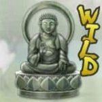 O símbolo do Budha no caça-níqueis online grátis Geisha Wonders