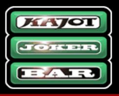 O símbolo da Barra do Joker do caça-níqueis de cassino grátis Hotlines 34 da Kajot