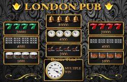 Jogo caça-níqueis de cassino online London Pub
