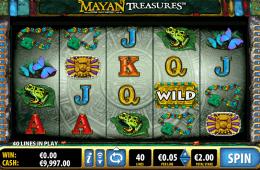 Mayan Treasure slot grátis