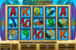Caça-níqueis online grátis Surf Safari