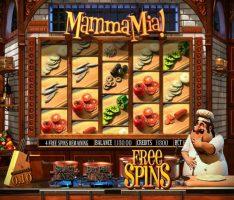 Bônus de giros grátis na slot Mamma Mia - giros grátis na máquina caça-níquel