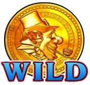Símbolo Curinga do caça-níqueis grátis online Rainbow Riches