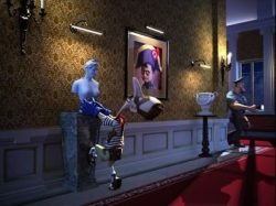 O jogo bônus 'Pego no Museu' do caça-níqueis online A Night in Paris