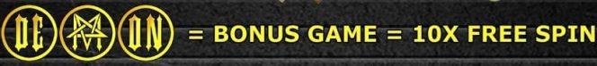 Jogo bônus do caça-níqueis de cassino online grátis Demon Master