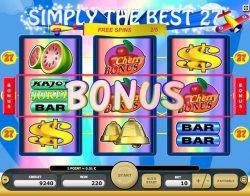 Jogo caça-níqueis online Simply the Best 27  - recurso de bônus