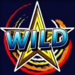 Símbolo Curinga do jogo caça-níqueis de cassino Spinning Stars