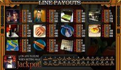 Tabela de Pagamento do jogo de cassino grátis The SlotFather