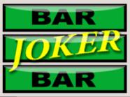Slot grátis Joker Mania II – Barra Joker do símbolo Curinga