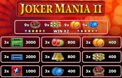 Tabela de pagamento–tabela de pagamento do caça-níqueis Joker Mania Grátis