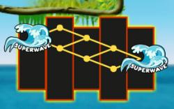 O recurso Superwave da slot online grátis Super Wave 34