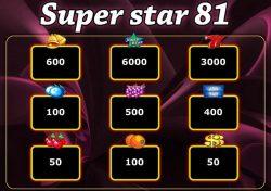 Caça-níqueis  grátis Super Star 81- tabela de pagamento