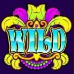Wild - O símbolo Curinga do jogo caça-níques grátis Carnaval