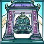 O símbolo aleatório da divertida slot Kathmandu