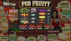 Jogo caça-níqueis online Pub Fruity de graça