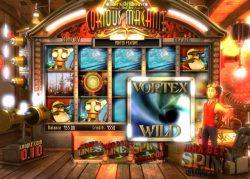 Imagem do jogo caça-níqueis online Curious Machine