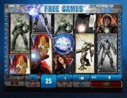 Caça-níqueis grátis online Iron Man 2