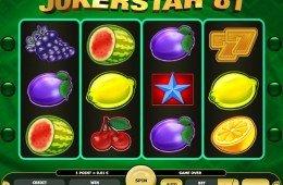 Caça-níqueis online grátis Jokerstar 81