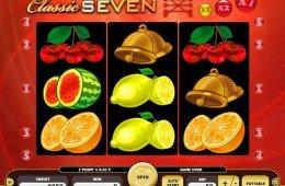Jogue o caça-níqueis online grátis Classic Seven