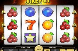 Caça-níqueis online grátis Joker 81