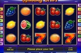 Jogo de cassino online Spinning Stars