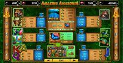 Jogue o caça-níqueis  online grátis Amazing Amazonia