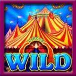 Símbolo Curinga  do jogo caça-níqueis online  Circus Brilliant