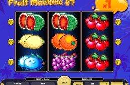 O jogo caça-níqueis de cassino online grátis Fruit Machine 27